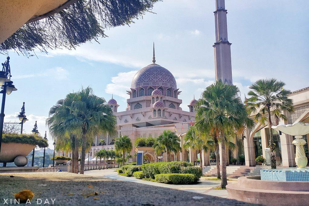 粉色梦幻回教堂 Putra Mosque (a.k.a. Pink Mosque)