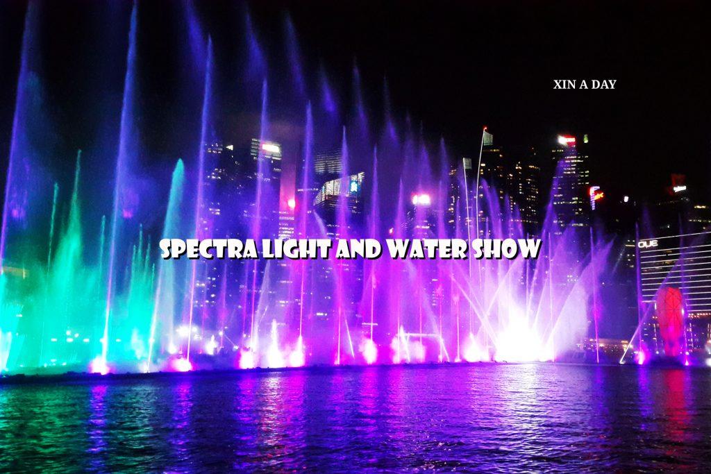 水上灯光秀 Spectra Light and Water Show